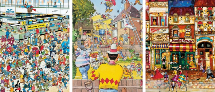 Colouring Books and Puzzles