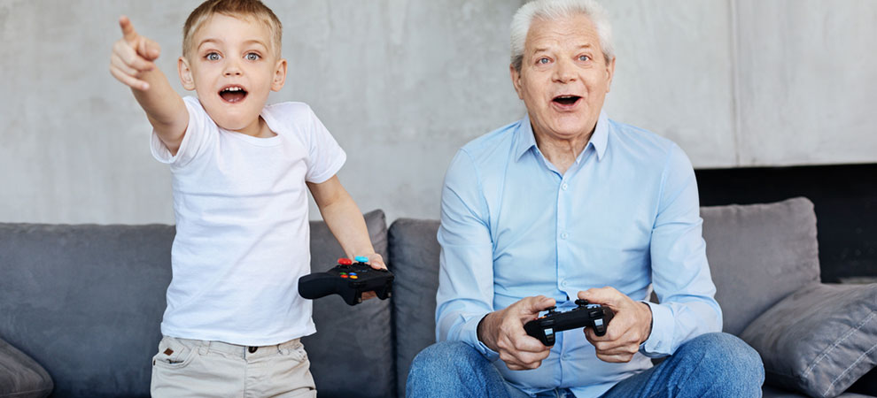 Elderly Gaming: Rise of the Silver Gamer
