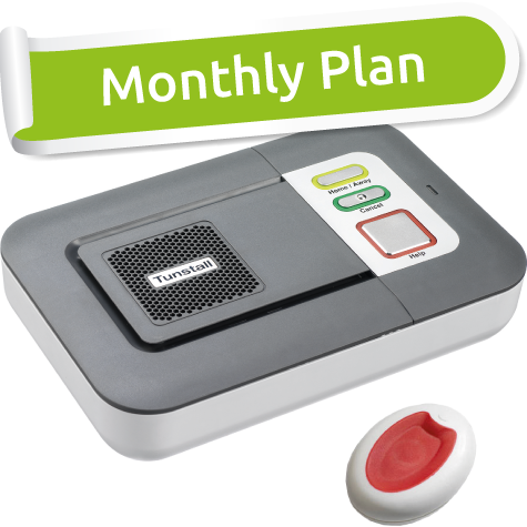 Lifeline Alarm Monthly Plan