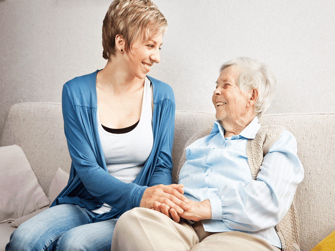 caring for relatives with a personal alarm