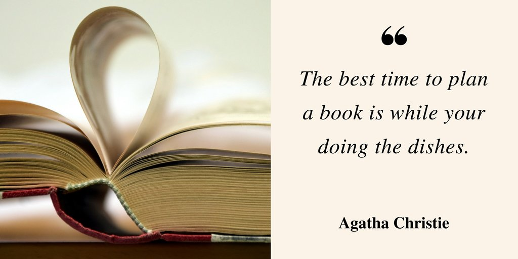 Elderly Readers - Agatha Christie Quote