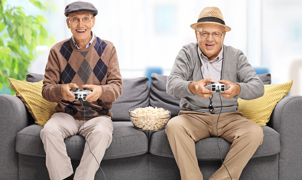 Hobby Ideas for Older People - Gaming