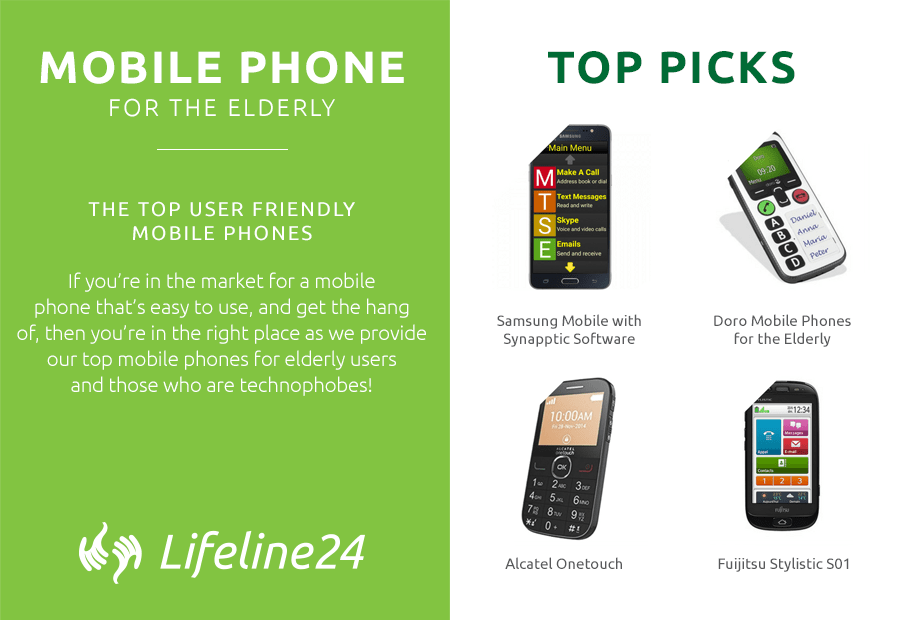 Mobile phones for older people - Options