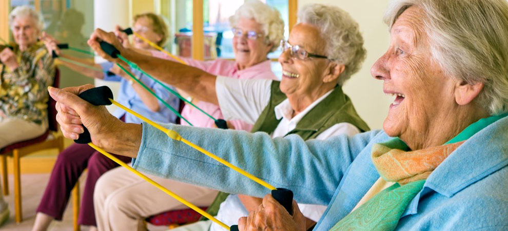 8 Creative ways Older People can get in Shape