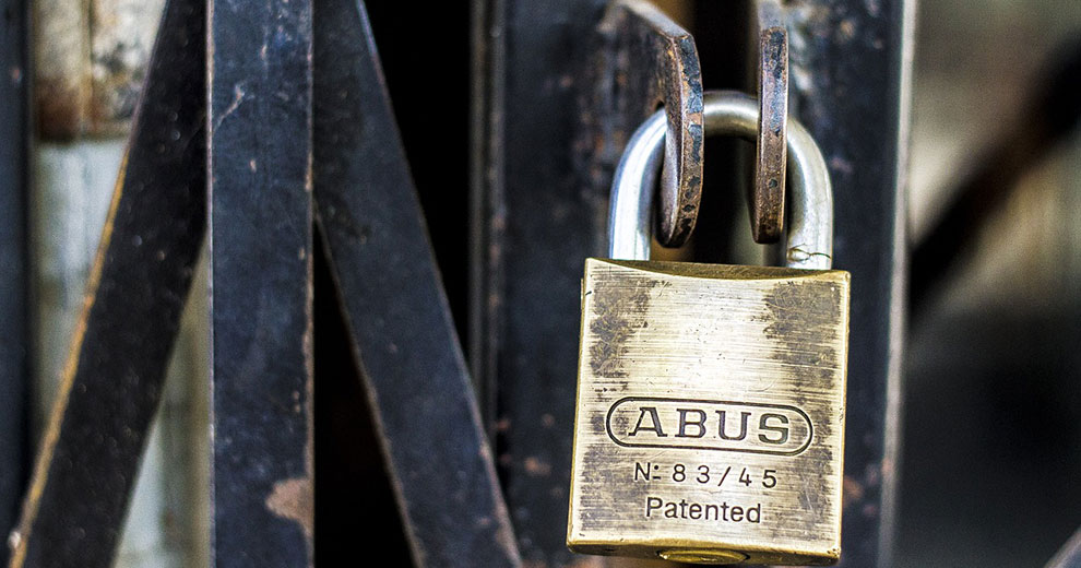 Securing your Home - Padlock