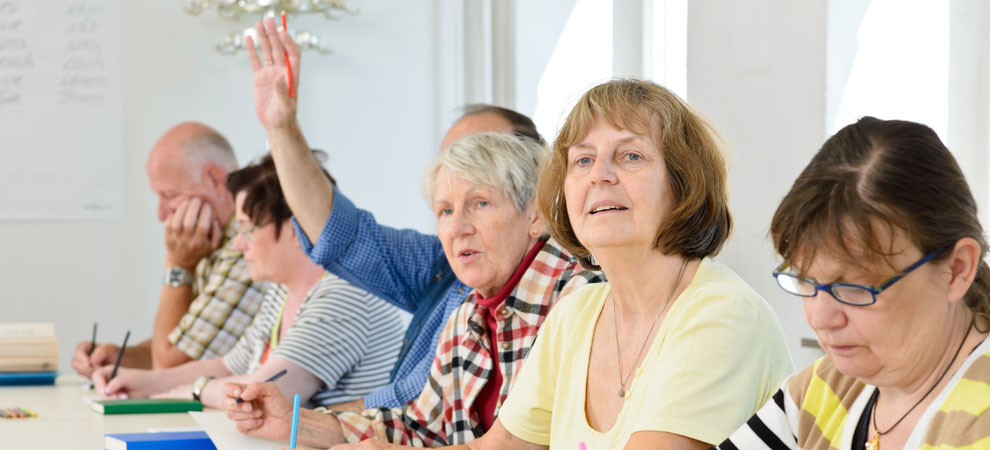 Adult Learning Classes for Older People