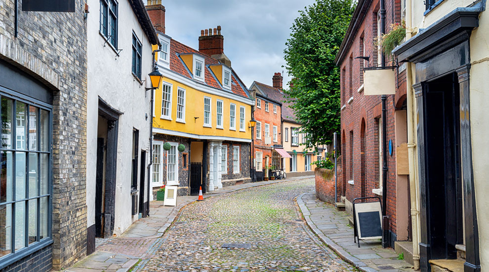 Things to do in Norwich - The Lanes