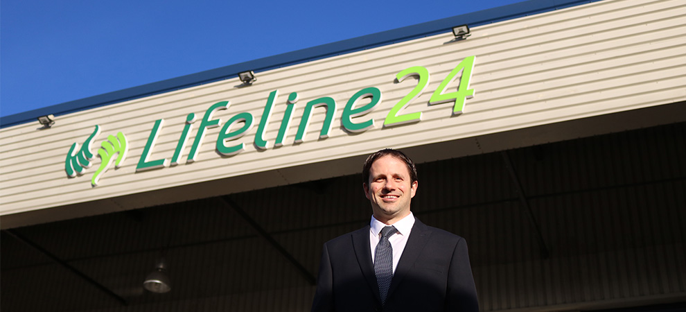 Lifeline24 named in the Sunday Times Fast Track 100